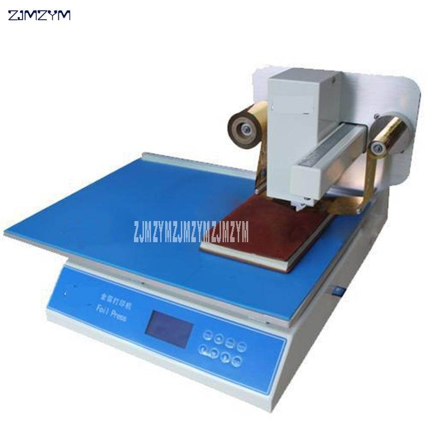 220V/110V 50/60HZ Digital Printer Flatbed Printer Foil Stamping Machine Gold foil printer Print speed 20 60mm/s