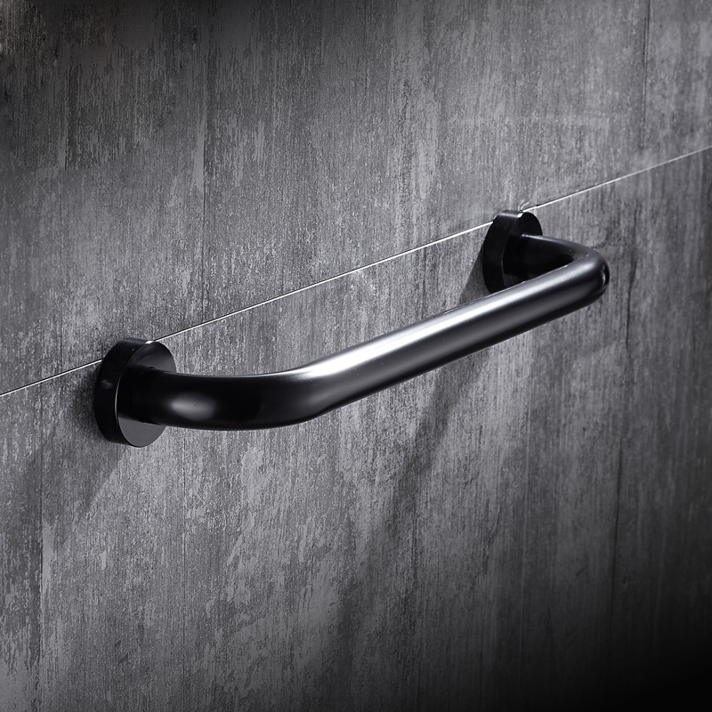 Space aluminum Bathroom Handle Grab Bar Safety Bath Shower Tub Grab Non-slip Handle Rail Grip bathroom accessories