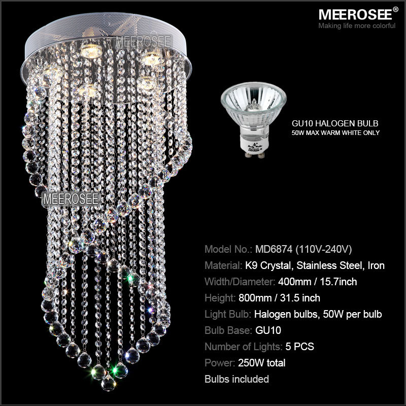 Modern crystal chandelier light fixture crystal light lustres for modern crystal chandelier light fixture crystal light lustres for ceiling lamp prompt shipping 100 guanrantee in chandeliers from lights lighting on mozeypictures Choice Image