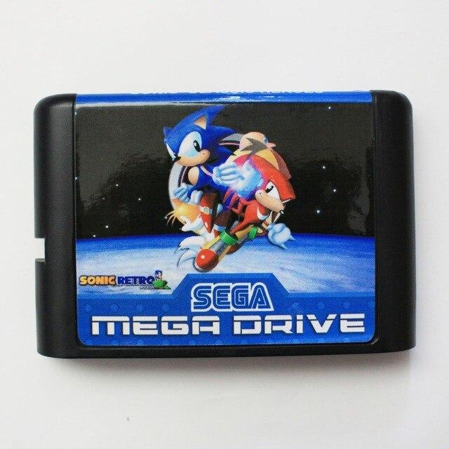 Sonic Classic Heroes - Sega Mega Drive For Genesis