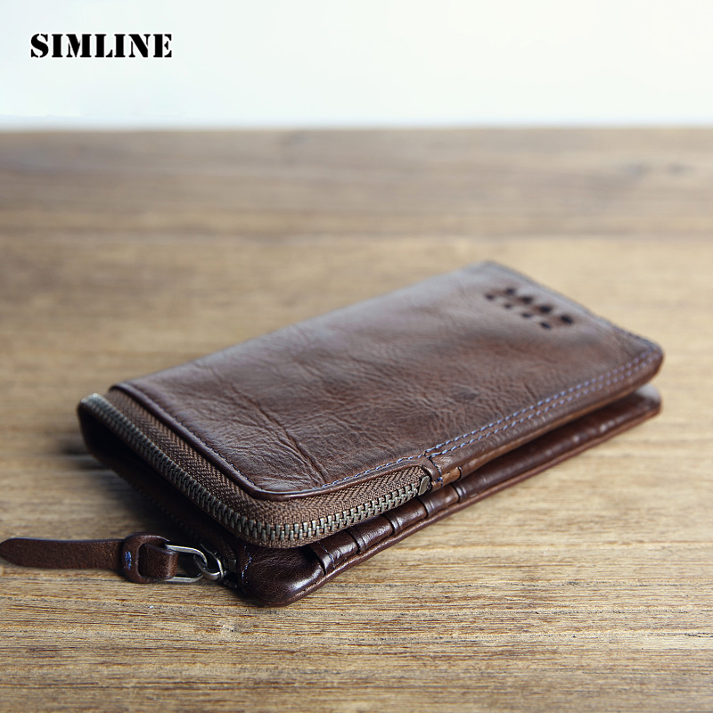 Famous Brand Vintage Genuine Leather Cowhide Men Men's Short Wallet Wallets Purse Zipper Coin Pocket Male Carteira Card Holder genuine leather mens wallet black hasp men purse with zipper coin pocket portfolio male short card holder vertical men wallets
