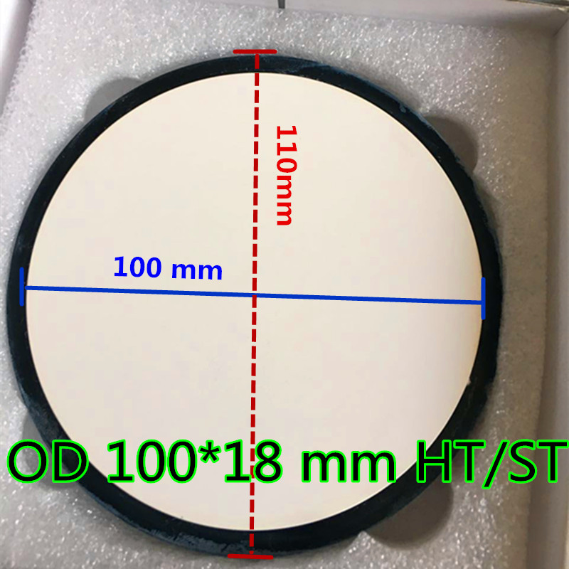10 Pieces OD100 *18 mm Dental Zirconia Blocks CAD CAM Milling Upcera System All-ceramic Teeth Restoration Material