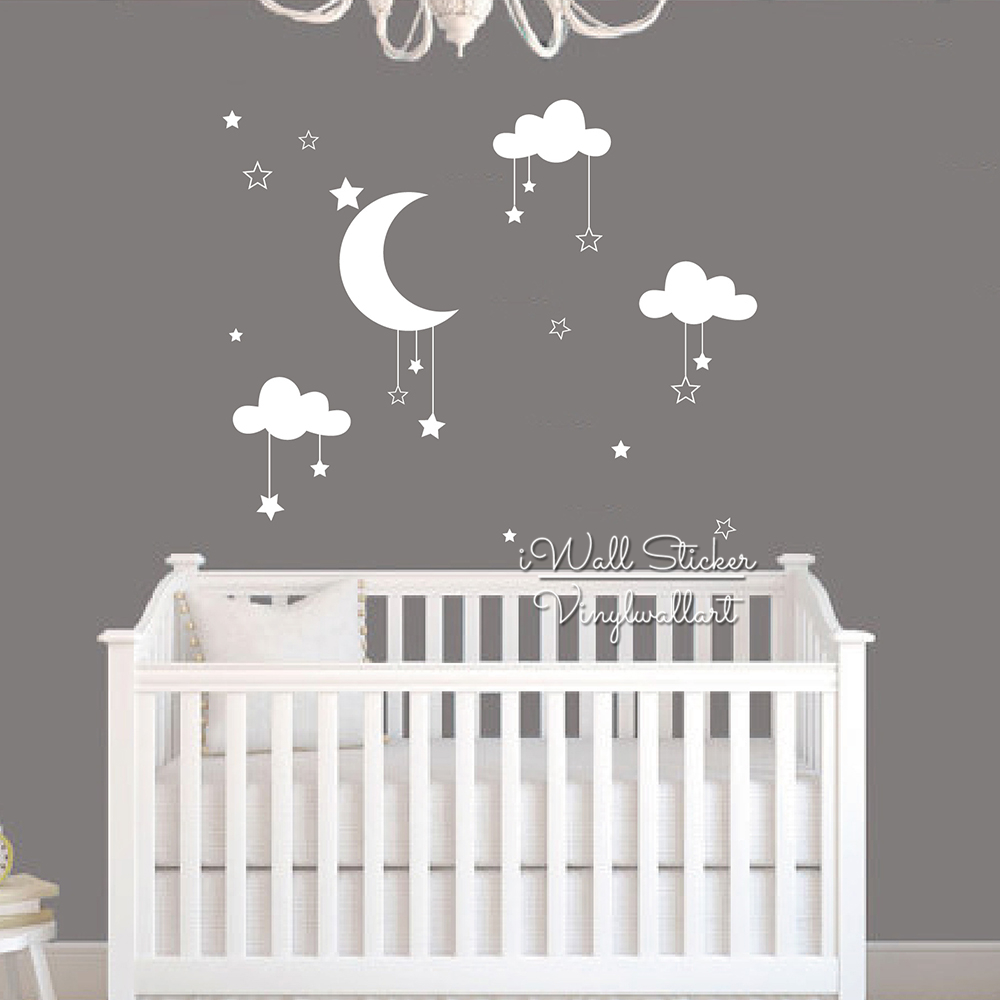 Baby nursery wall stickers for Baby room decoration wall stickers