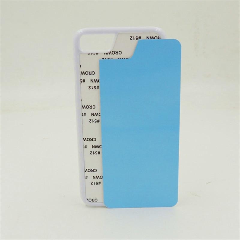 2D Sublimation Blans Plastic Case for iPhone 7 7 Plus 8 8 Plus - Բջջային հեռախոսի պարագաներ և պահեստամասեր - Լուսանկար 5