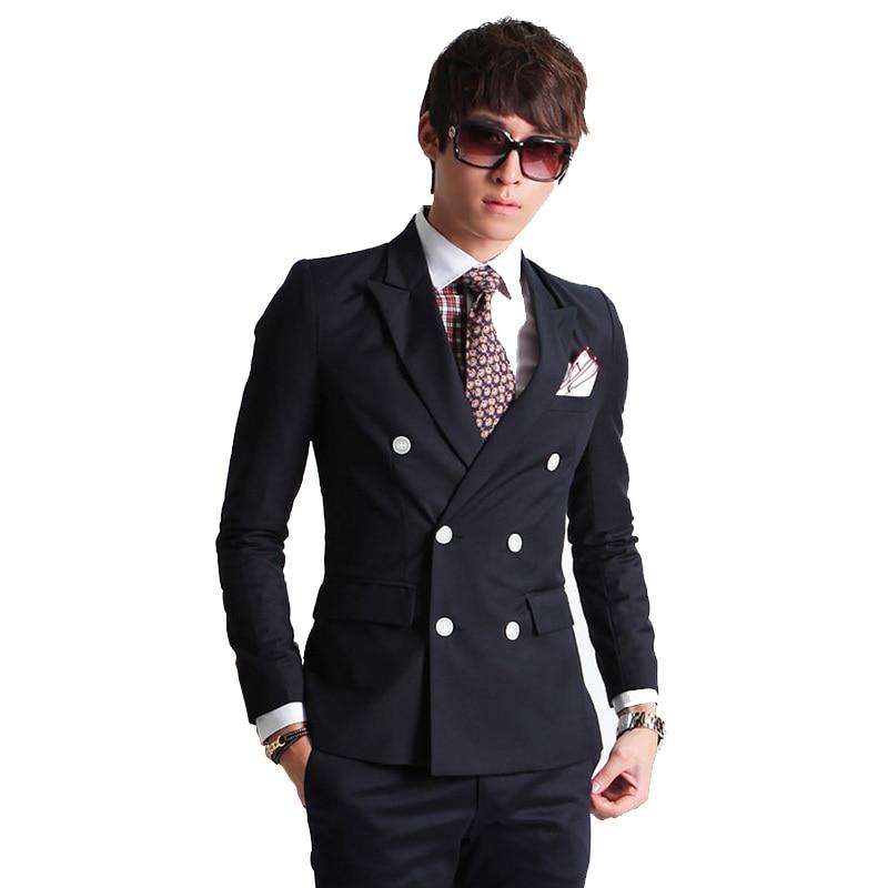 Aliexpress.com : Buy 2017 New Fashion Brand Men Blazer Men Double