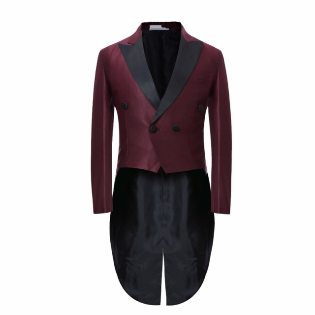 Aliexpress.com : Buy 2017 Long Tuxedo Jacket Slim Men Suit Evening ...