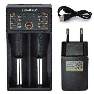 Image 5 - NEW Liitokala Lii PD4 S4 S2 402 202 100 18650 Battery Charger 1.2V 3.7V 3.2V AA21700 NiMH li ion battery Smart Charger+ 5V plug