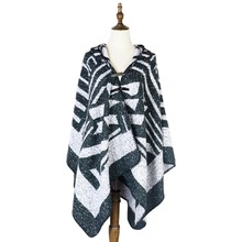 cappa amice women poncho shawls winter feminino inverno stoles shawl wrap hooded tricot ponchos and capes pashmina knitted