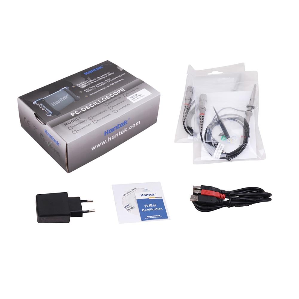Hantek IDSO1070A 2CH 70MHz Original iPhone iPad Android Windows WIFI USB Oscilloscope 250MSa s 2 Channels