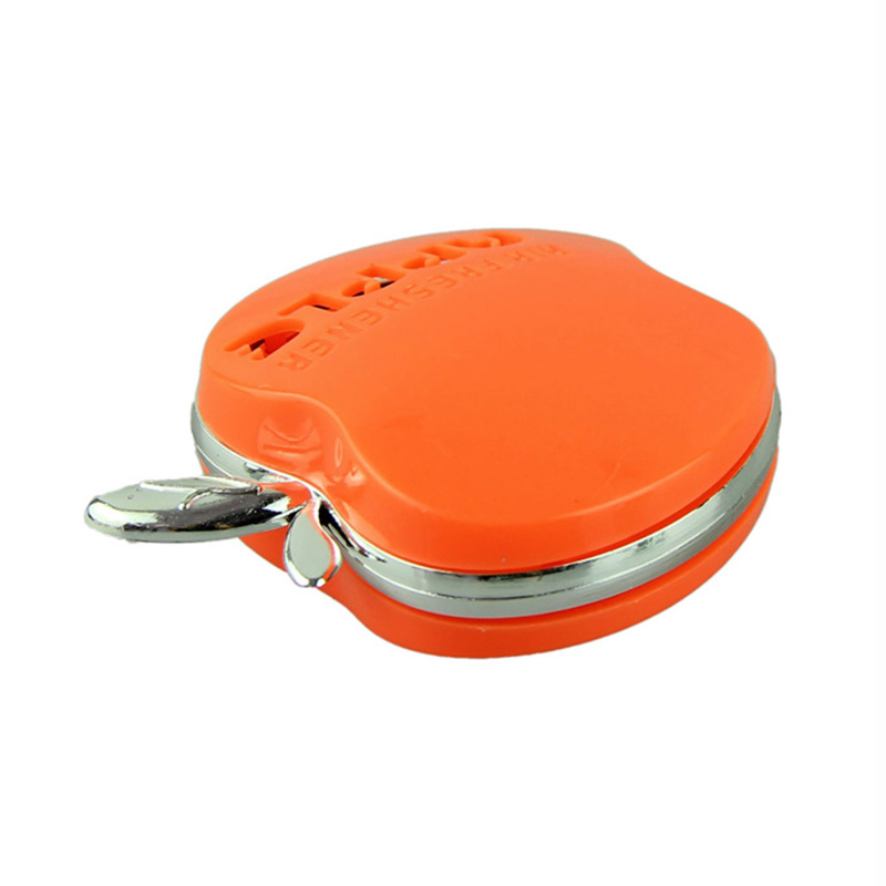 Auto Car Air Freshener Clip Perfume Comfort Outlet Diffuser For Car Vehicle Home orange