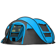 Outdoor automatic pop-up tent family camping tent large waterproof beach tent 3 colors new large throw tent outdoor 2 3persons automatic speed open throwing pop up windproof waterproof beach camping tent large space