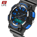TTlife Men Electronic Watches Stopwatch Timing Alarm Clock relogio Shock Resistant Casual Sport Fashion Watch New 2016 Top Brand