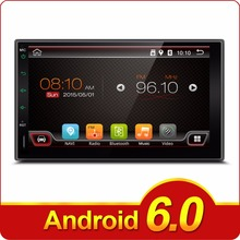 2 din Android car aux player Quad 4 Core 6.2 inch screen car stereo radio Car Tap PC Tablet Universal For Nissan GPS Navigation