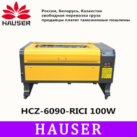Free Shipping HCZ 9060 RECI 100w co2 laser 6090 laser engraving cutter machine laser marking machine mini laser engraver cnc diy