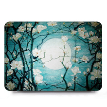 Tablet shell pouch color Printing Laptop Shell Hard Case Cover+Keyboard Cover Only For Alppe Macbook Air 13 Model A1466 A1369