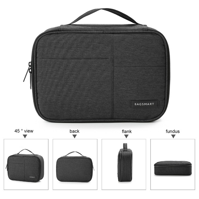 Double Layer Electronic Accessories Organizer