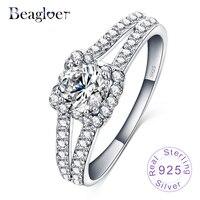 Top Selling Elegent Wedding Rings 100 925 Sterling Silver Ring Bijoux Women Luxury Fine Jewelry Gift