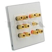 Caja de sonido 5 1  soporte de placa de pared para altavoz banana  DIY