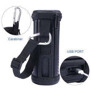 Image 3 - Travel Storage Bag hollow carved Case Sleeve Portable Protective Cover Bag for JBL FLIP 4 Bluetooth Speaker