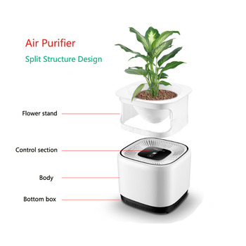 Electric Air Cleaner Sterilizer Ozone Generator Air Purifier Ozone Disinfector Green Plant Purification Air Purifiers Home Use