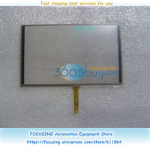 5 inch 800480F-OB-OC-40 Display TP Resistive Touch screen glass new