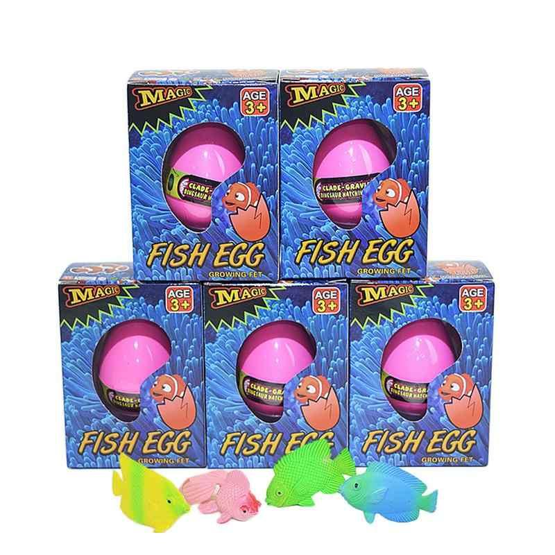 Волшебное Инкубационное яйцо русалки животных рыбы Revivable домашних животных яйцо выращиваемые в воде дети подарок игрушка