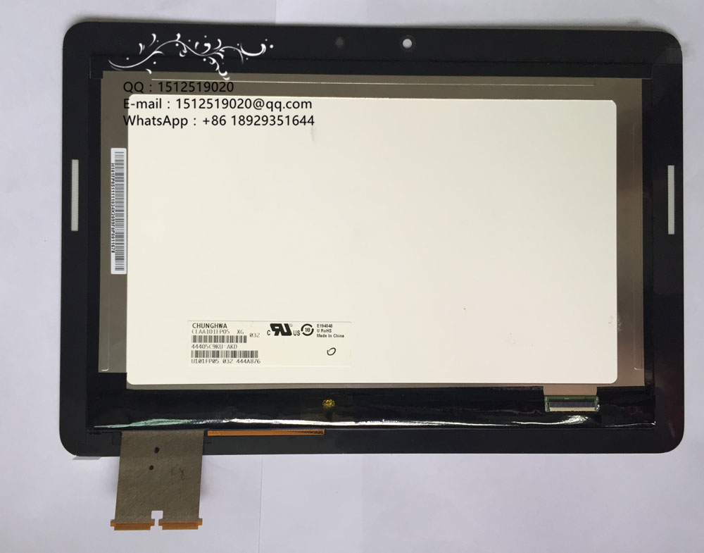For Asus Transformer Pad TF303 TF303K TF303CL LCD Display Touch Screen Digitizer Assembly Parts Tablet PC Black+Freeship sheffilton колонна пятигоршковая медный антик