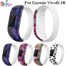 Colourful Watch Band Small Replacement Wrist Band Silicone Strap Clasp For Garmin vivofit JR Watch Loop Waterproof Watch Straps silicone replacement wrist straps band for garmin vivofit jr watch strap clasp for garmin vivofit jr watches watch band bracelet