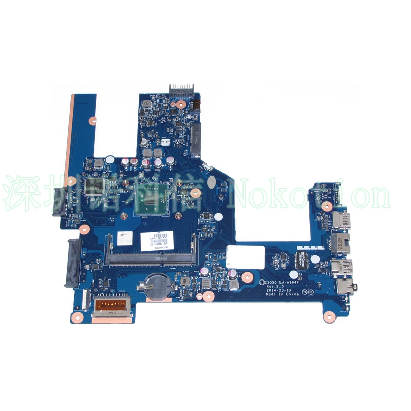 ZSO50 LA-A994P 788289-501 788289-001 for HP Compaq 15 15-R 15T-R 15-S Motherboard SR1YJ N2840 CPU onboard zso стандарт