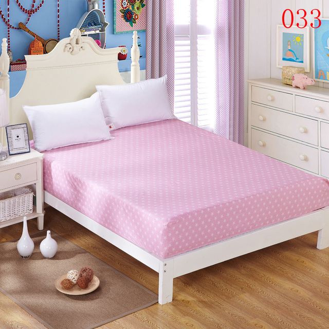 Awesome White Star Cotton Fitted Sheet Single Double Bed Sheets Fitted Cover  Mattress Cover Twin Full Queen
