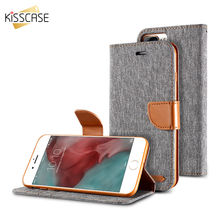 KISSCASE Stand Wallet Flip Cases For iPhone 6 6S 7 5 5S Case Retro Book Card Slot Cover For iPhone 5S 5 SE 7 6s Plus Case Coque