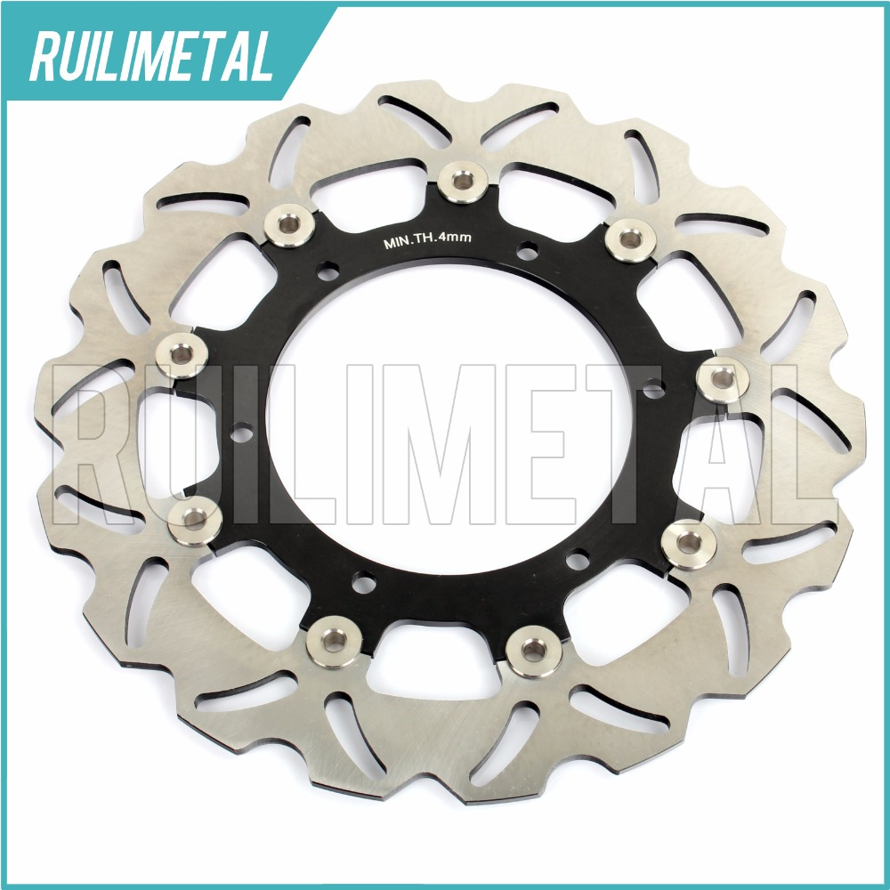Front Brake Disc Rotor for YAMAHA WR 250 X XT 660 R XJ 600 S DIVERSION 1998 1999 2000 2001 2002 2003 N YZF THUNDERCAT mfs motor front rear brake discs rotor for yamaha yzfr1 1998 1999 2000 2001 yzfr6 1998 1999 2000 2001 2002 yzf r6 98 02 gold