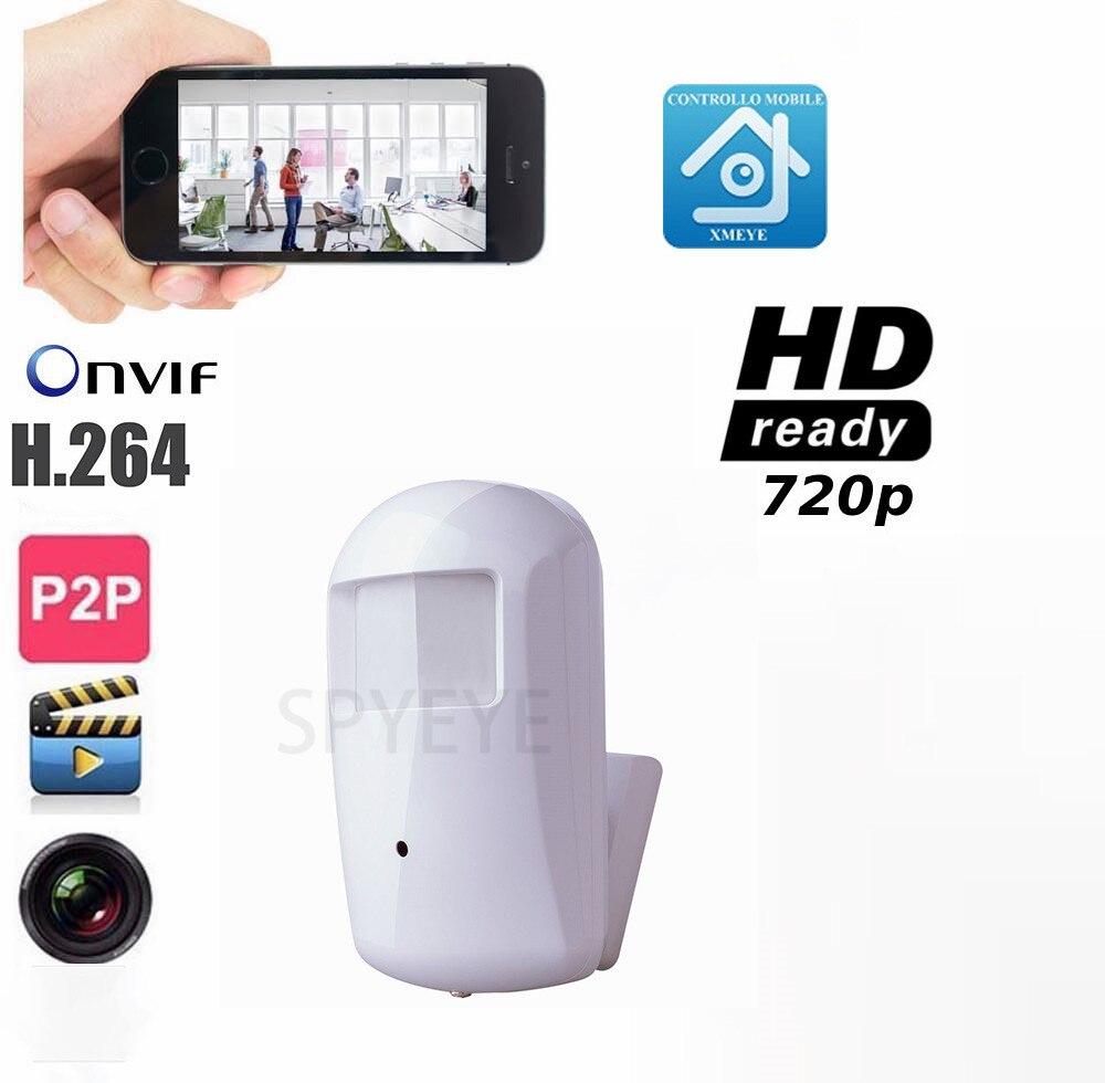 1080 p 960 P 720 p Pir Detector de movimiento estilo MINI cámara IP ONVIF Pir estilo cámara oculta PIR seguridad cam cámara IP de vigilancia