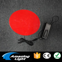 15cm Diameter Electroluminescent sheet el backlight led panel sheet with DC3V inverter free shipping