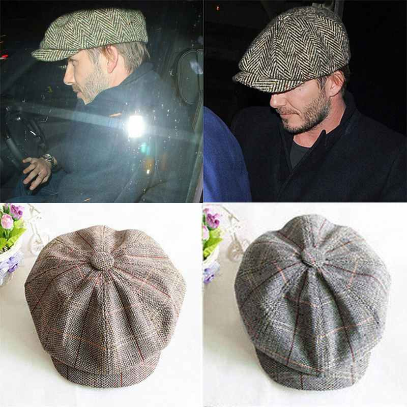 Casual Cabbie Newsboy Cap Mens Ivy Hat Driving Summer Sun Flat Octagonal-in  Newsboy Caps from Apparel Accessories on Aliexpress.com  df260be02d8