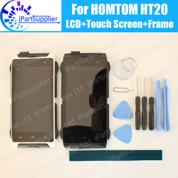 HOMTOM HT20 LCD Display + Touch Screen Digitizer +Frame Assembly 100% Original New LCD + Touch Digitizer for HOMTOM HT20 + Tools
