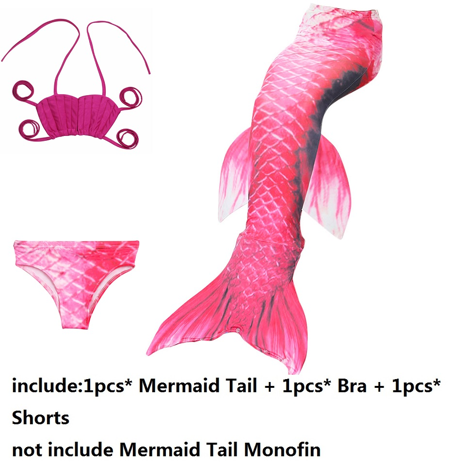 online shop mermaid tail monofins girls mermaid tail costume for