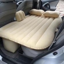 Asiento trasero Del Coche del asiento de coche cama de Aire Colchón inflable flocado inflable Coche cama Del Amortiguador de la Alta calidad como regalo cama para el Automóvil