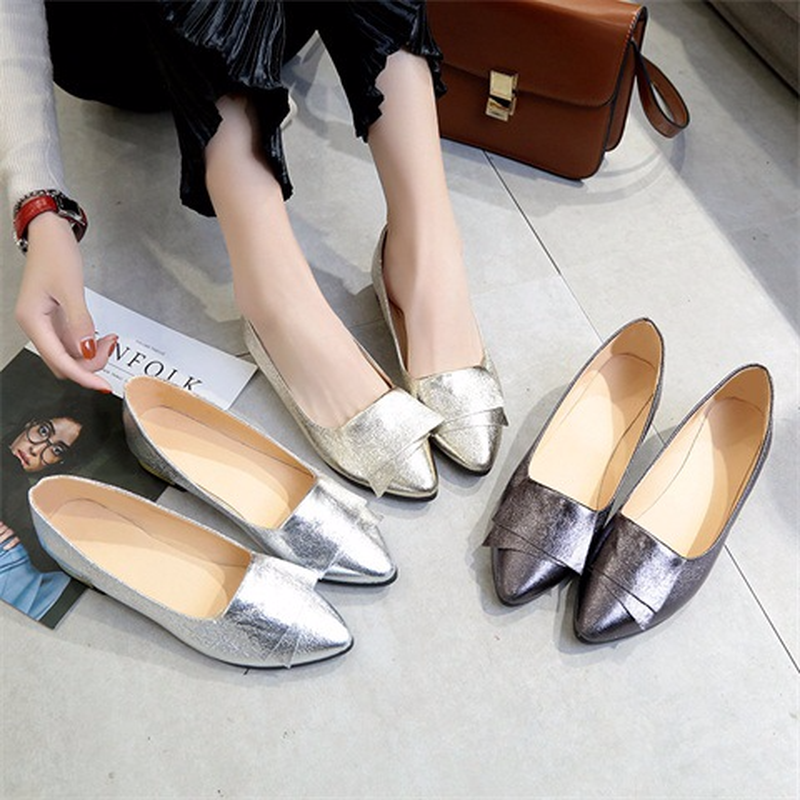 new style of pointed soled ladiesshoes in 2019