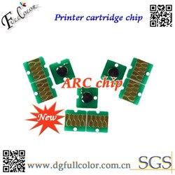 Nowe i. Gorąca sprzedaż! ARC chipie układ zasobnika z tuszem dla T6941 5 stosowania na dotyczące swojej Epson surecolor T3000 drukarki w Chipy tonera od Komputer i biuro na