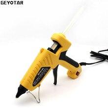 60W Hot Melt Glue Gun with Free 2pcs 11mm Stick Heat Temperature Tool Industrial Guns Thermo Gluegun Copper Nozzle Repair tools