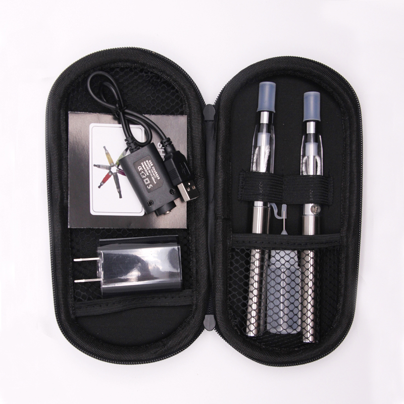 , SUB TWO Dual ego ce4 zip kit Electronic Cigarette ego t battery ce4 atomizer Vape pen e-cigarettes kits electronic hookah pen