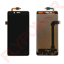 For Elephone p6000 Pro (not for P6000) lcd screen display+touch screen digitizer assembly by free shipping; black