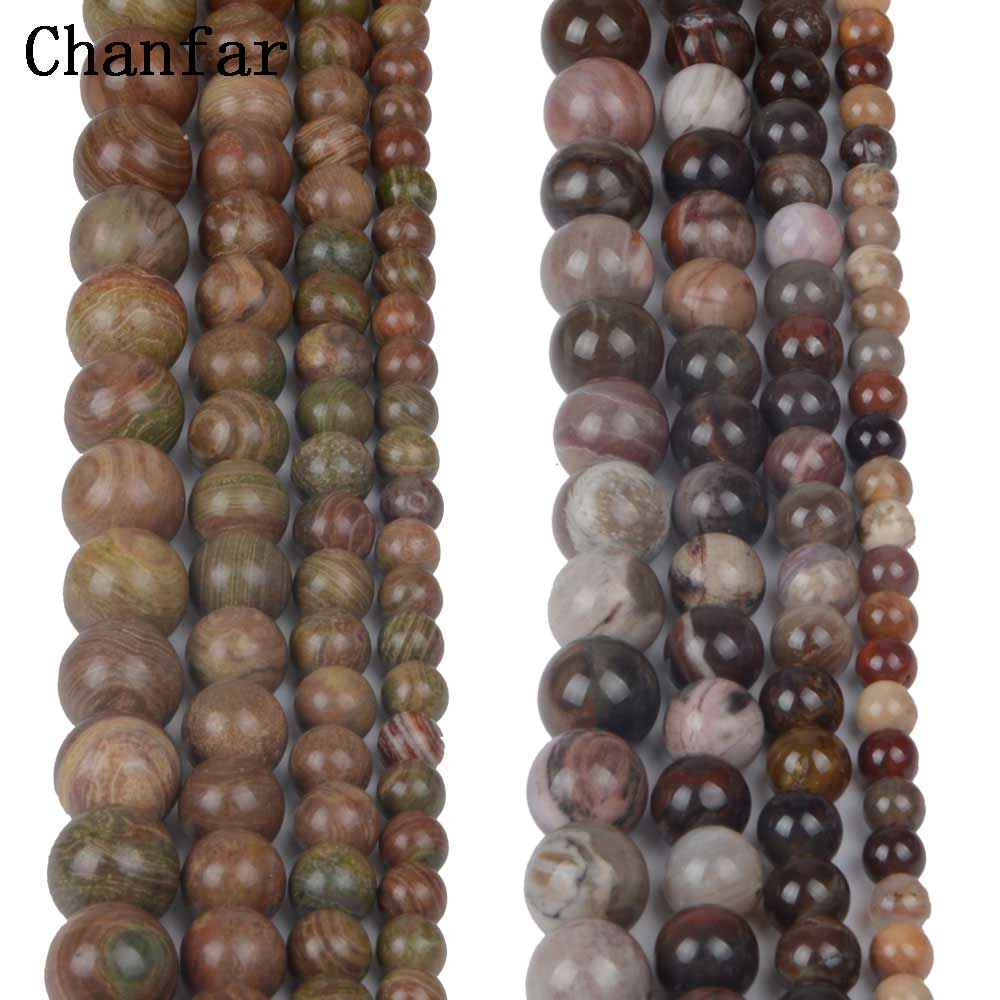 Color Cobblestone Stone Indonesia xylopal Beads Women Jewelry Fashion Making Beads 4 6 8 10 12mm