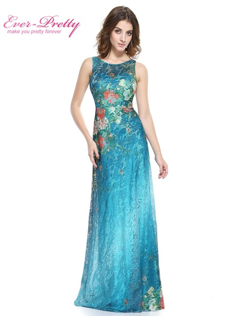 A Line Prom Dresses Floor Length