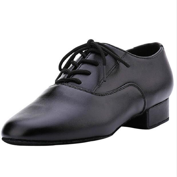 1ed2e390be Envío Gratuito Profesional Negro Moderno/Tango//Zapatos de Baile De Salsa  Hombres/zapatos de Baile Latino Zapatos de Los Hombres Bajos talón en Calzado  de ...