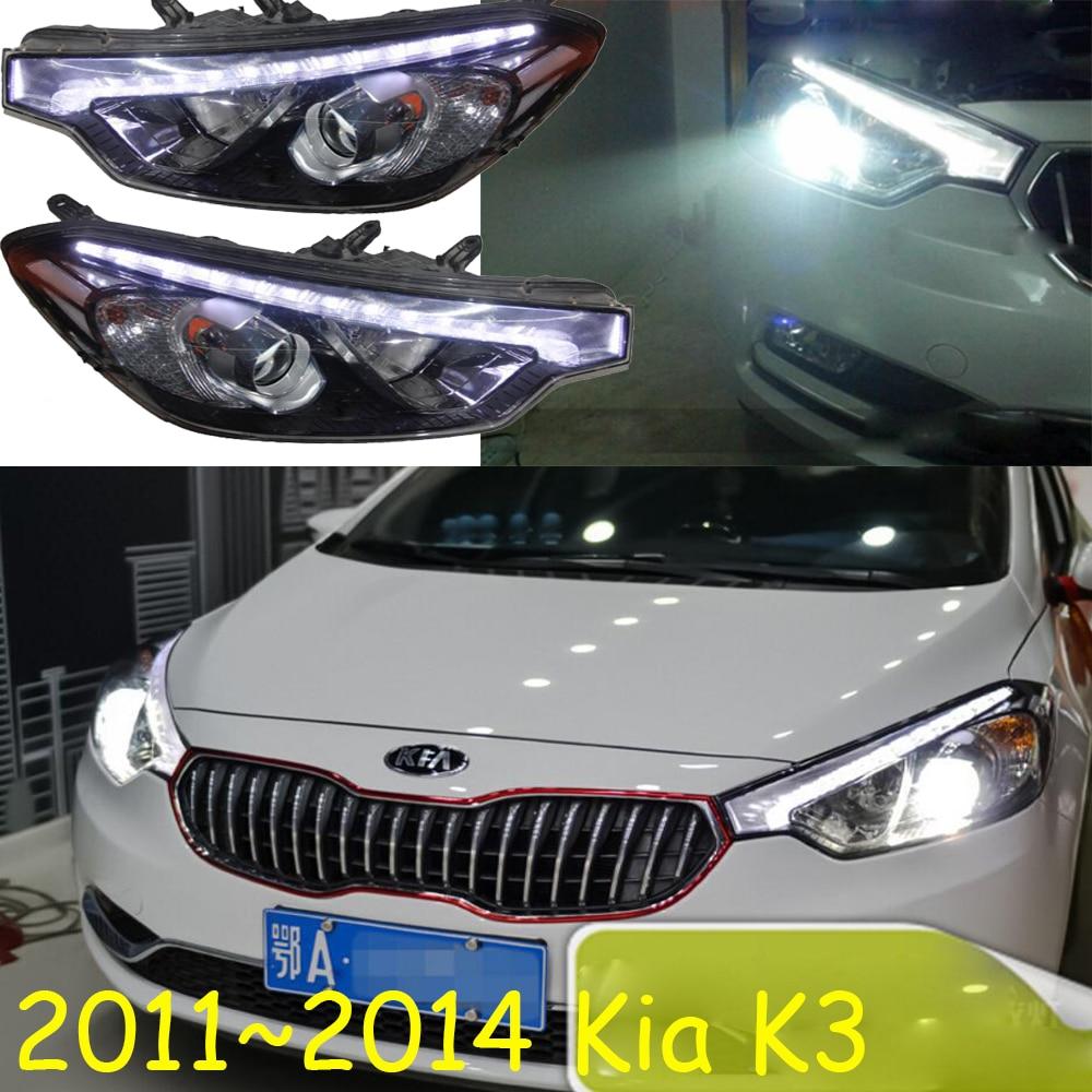 KlA K3 headlight,2011~2014,Free ship!KlA K3 daytime light,K 3, K4 K5,Cerato sorento;creta,cerato headlight