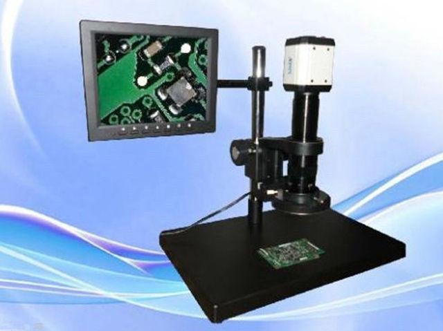 Digitale industrielle inspektion zoom video mikroskop usb & vga