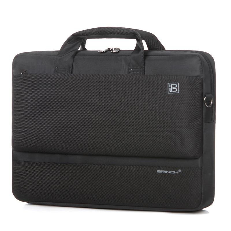 Τσάντα υπολογιστή BRINCH 17 ιντσών αδιάβροχο υλικό νάυλον 17,3 ιντσών σακίδιο φορητού υπολογιστή μεμονωμένων ώμων BW-209