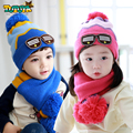 2017 Direct Selling Winter Hat And Of Children's Hats Caps Two Sets Of To Keep Warm Baby Autumn Winter Children 1-6 Years Old